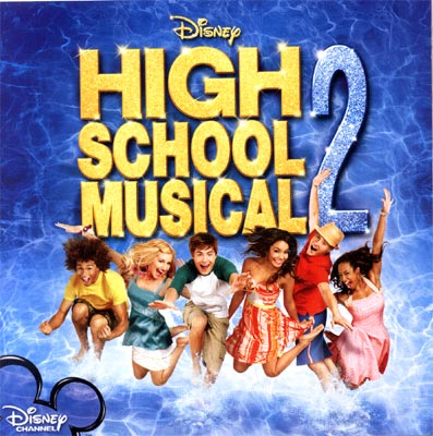 High School Musical 2 Official Soundtrack CD