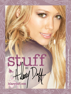 Stuff by Hilary Duff - unveils her latest fashion collection