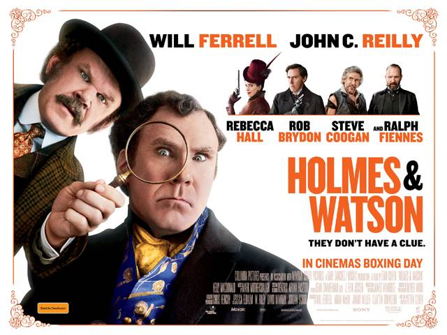The Making Of Holmes & Watson