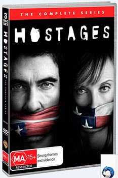 Hostages: The Complete First Season DVD