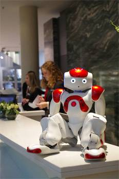 Robots in Travel Slowly Gaining Australian Approval