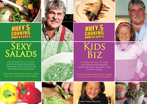 Huey's Cooking Adventure DVDs