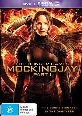 The Hunger Games Mockingjay Part One DVD