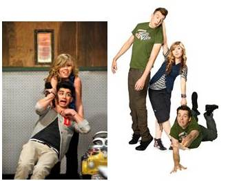 One Direction features on iCarly