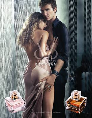 Intimately Beckham for Him & for Her, David & Victoria Beckham's new fragrances