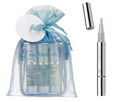 Intraceuticals Rehydration Travel packs & Atoxelene Line Wand