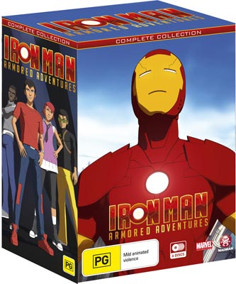 Iron Man Armored Adventures Box set