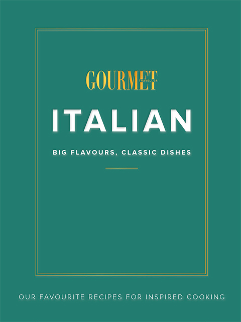 Win Italian Gourmet Traveller Cookbook