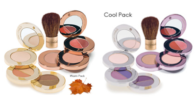 Jane Iredale EyeSteppes and MySteppes Compact