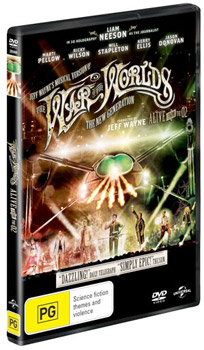 Jeff Wayne's The War of the Worlds: The New Generation DVD