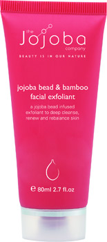 The Jojoba Company Bead and Bamboo Facial Exfoliant