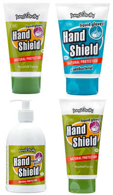 HandShield Industrial & Antibacterial Liquid Gloves