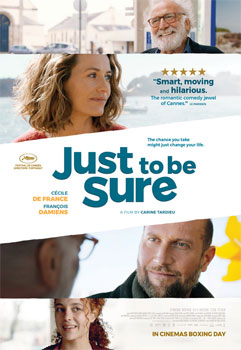 Win Just To Be Sure Movie Tickets
