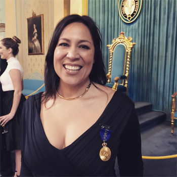 Kate Ceberano Recieves Order Of Australia Medal
