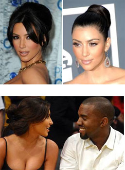 Kim Kardashian Hair Inspiration