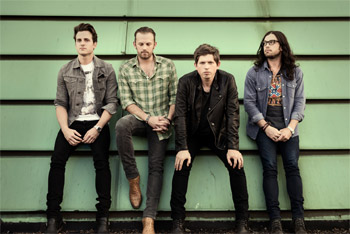 Kings Of Leon Mechanical Bull Debuts at Number One