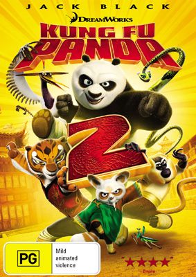 Kung Fu Panda 2 DVD and Triple Play