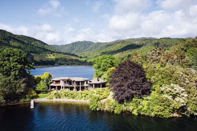Lake Okareka Lodge New Zealand