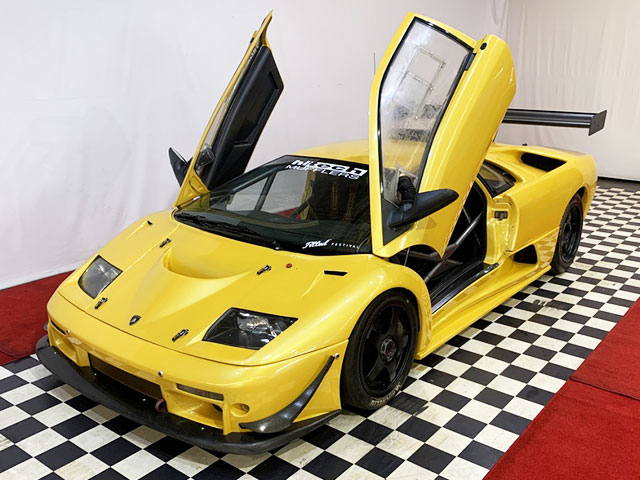 A 338kph Rare Lamborghini Auction