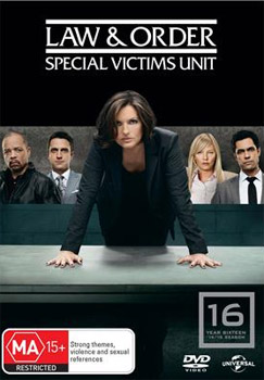 Law & Order: Special Victims Unit Season 16 DVD