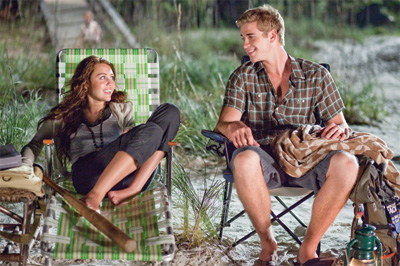 Liam Hemsworth The Last Song Interview