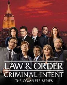 Law and Order Criminal Intent The Complete Series DVD
