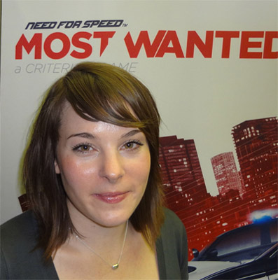 Leanne Loombe Need for Speed Most Wanted Interview