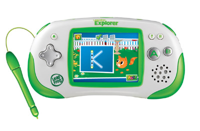 Leapster Explorer and games for Christmas