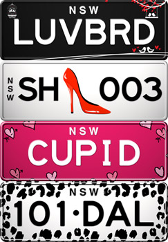 Le Chic Number Plates