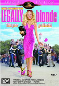 Legally Blonde Special Edition DVD