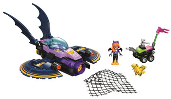 DC Super Hero Girls LEGO Batgirl Batjet Chase Set
