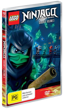 LEGO® NINJAGO™: Masters of Spinjitzu – Season 4, Volume 3 DVD