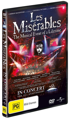 Les Miserables The Musical Event of a Lifetime