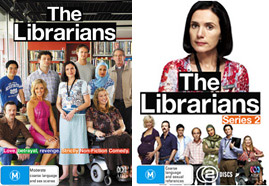 The Librarians Season 1 and 2 DVD