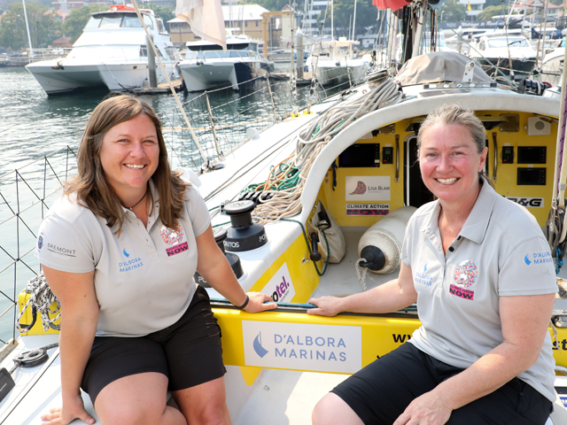 Lisa Blair 2019 Melbourne to Hobart Yacht Race Interview