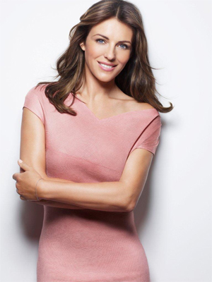 Elizabeth Hurley Estee Lauder Breast Cancer Research Interview
