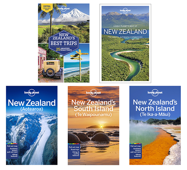 Lonely Planet New Zealand Book Pack