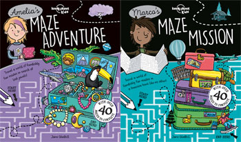Lonely Planet Kids' First-Ever Maze Books