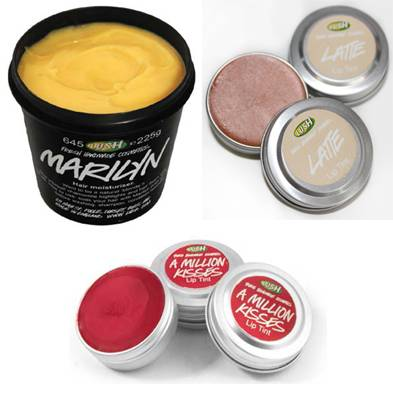 Award-winning looks from Lush