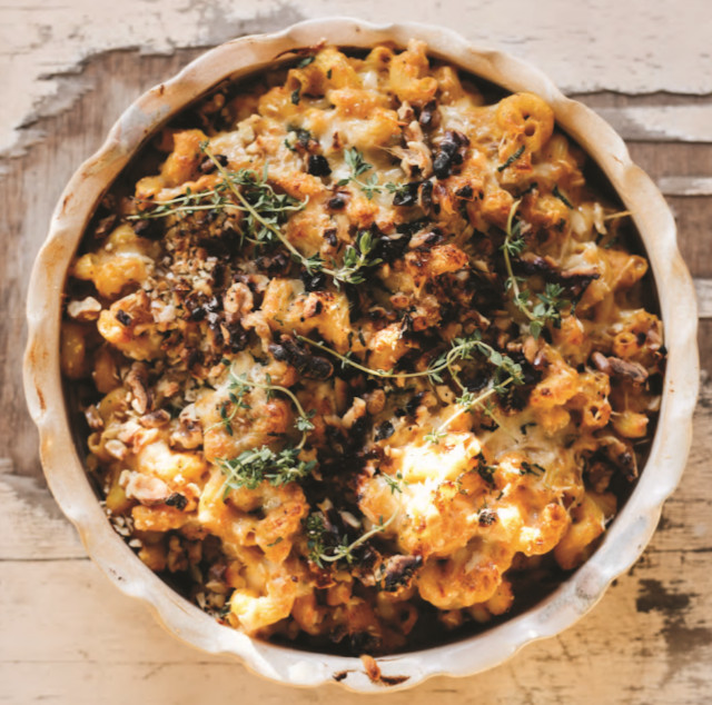 Roasted Pumpkin Mac N Cheese