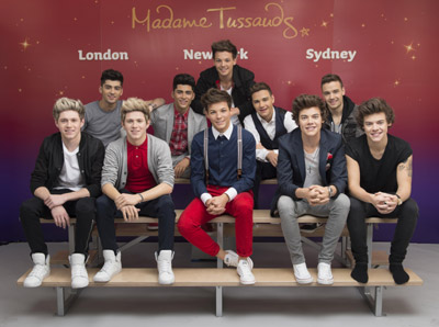 Be the first to visit One Direction Wax Figures in Sydney
