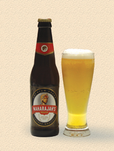 Maharajah's Premium Lager - not just a beer for Kings