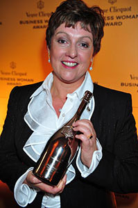 Mandy Foley-Quin CEO of Stedmans Hospitality Wins Veuve Clicquot Business Woman