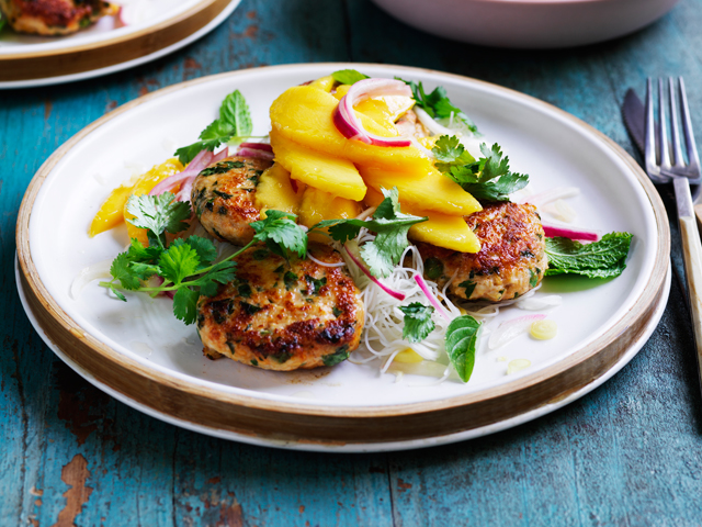 Thai Chicken Salad with Pickled Lemongrass Mango