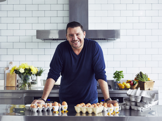 Meat Free Mondays with Manu Feildel