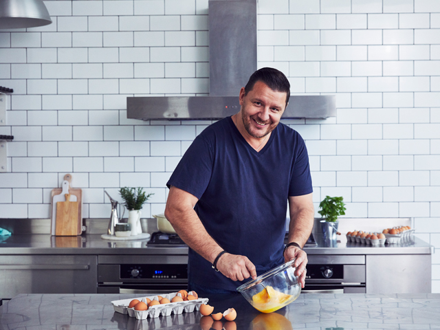 Manu Feildel's Perfect Scrambled Eggs