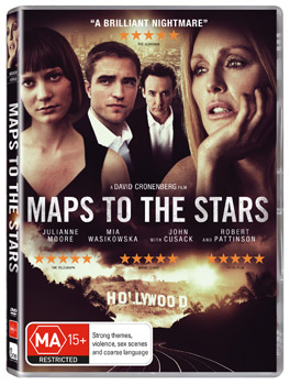 Map To The Stars DVD