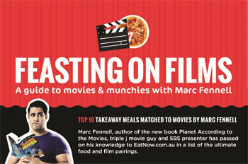 Top 10 Takeaway Meals Matched to Movies