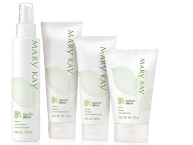 Mary Kay Botanical Effects Skin Care Range
