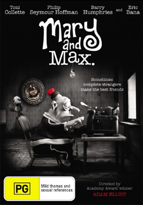 Mary And Max Dvd Girl Com Au